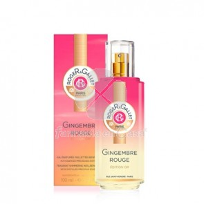 Roger Gallet Gingembre Rouge Edition Or Agua Perfumada 100ml