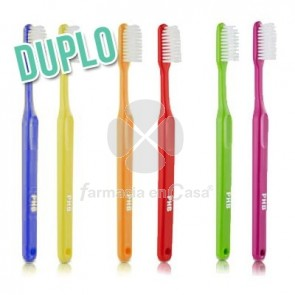 PHB Classic Cepillo Dental Adulto Suave Duplo 2 Uds