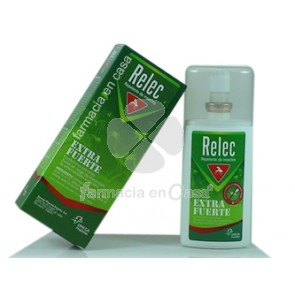 Relec Extra fuerte repelente mosquitos spray 75ml