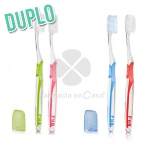 PHB Cepillo Dental Adulto Medio 2 Uds