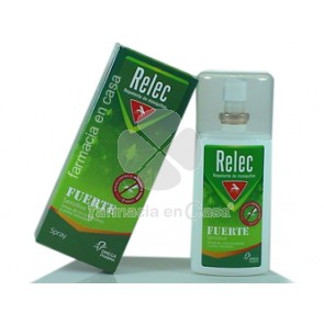 Relec Fuerte repelente mosquitos spray 75ml