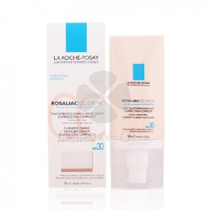 Rosaliac Cc Cream Spf30 Piel Sensible 50ml. La Roche Posay