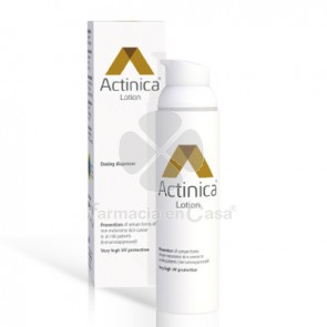 Actinica loción prevencion cancer de piel dispensador 80gr
