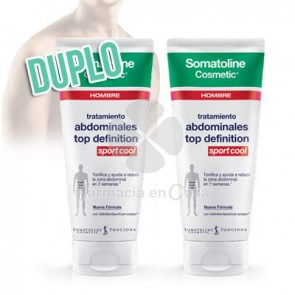 Somatoline Hombre abdominales top definition sport 2x200ml