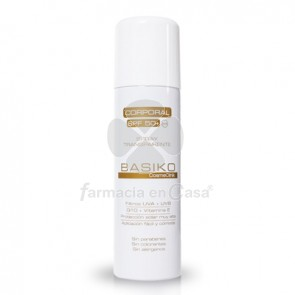 Cosmeclinik Basiko corp. spray p/normal-mixta spf 50+ 200ml