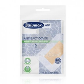 Salvelox Med Antibact Cover Aposito Adhesivo 5Uds