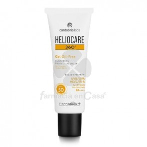 Heliocare 360º Spf 50 Gel Oil-Free Solar 50ml
