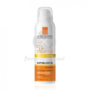 ANTHELIOS XL SPF50+ SPRAY ULTRA LIGERO P/SENSIBLE 200ML. R. POSAY