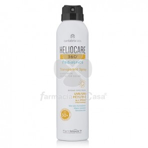 Heliocare 360º Pediatrics Spf 50+ Spray Transparente 200ml