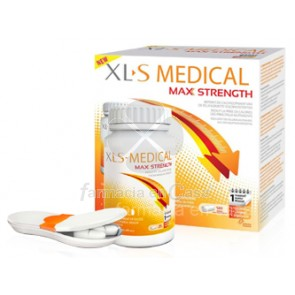 XLS Medical max strength reductor de calorias 120 comprimidos