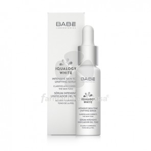 Babe Iqualogy white serum intensivo unificador del tono 30ml