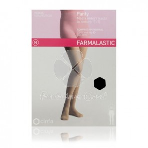 Farmalastic Panty comp normal 140 den negro t- egde