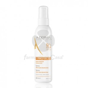 Aderma Protect Spray Solar Spf50+ 200ml