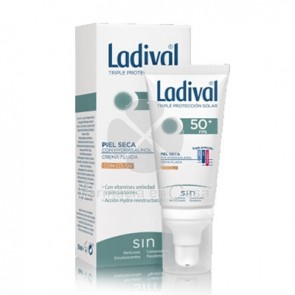 Ladival Piel Seca Crema Fluida Con Color Spf50+ 50ml
