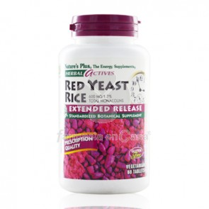 Nature's Plus Nature plus red yeast 600mg antioxidante 30 comprimidos