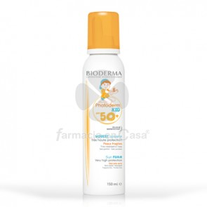 Bioderma Photoderm kid spf 50+ espuma solar 150ml