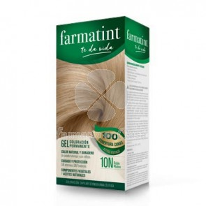 Farmatint 10n rubio platino gel 150ml