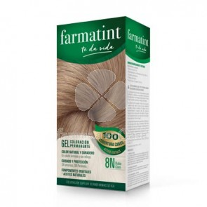 Farmatint 8n rubio claro gel 150ml