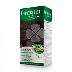 Farmatint 4n castaño gel 150ml