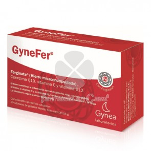 Gynefer ferginate 30 cápsulas