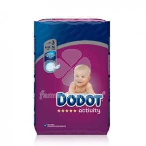Dodot Activity pañal t/3 6-10kg 56 uds