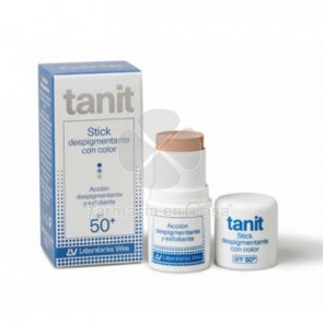 Tanit Stick despigmentante con color spf 50+ 4gr