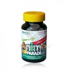 Nature's Plus Nature plus animal parade multivitaminico cereza 60 comp