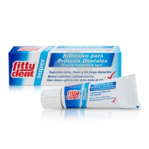 Fittydent Super Adhesivo Protesis Dental 20gr