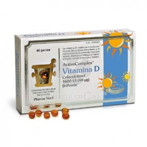 Pharma Nord Activecomplex Vitamina D 80 Perlas