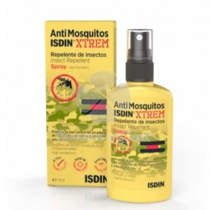 Isdin Antimosquitos xtrem spray repelente insectos 75ml