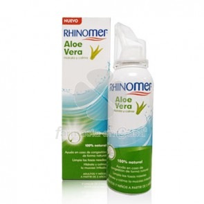 Rhinomer Aloe vera limpieza nasal spray 100ml