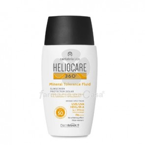 Heliocare 360º Spf 50 Fluido Mineral Tolerancia 50ml