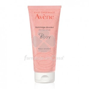 Avene Agua Termal body exfoliante suave piel sensible 200ml