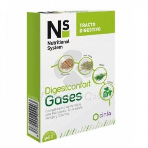 Nutritional System Digestconfort Gases 60 Comprimidos
