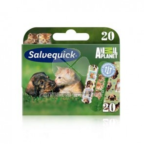 Salvelox Apósito adhesivo infantil animal planet 20 uds