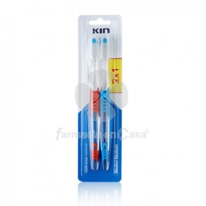 Kin Cepillo Dental Medio 2Uds