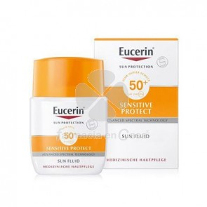 Eucerin Solar Spf50+ Sensitive Protect Fluido Matificante 50ml