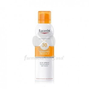 Eucerin Solar Spf30 Sensitive Protect Spray Transp. Seco 200ml