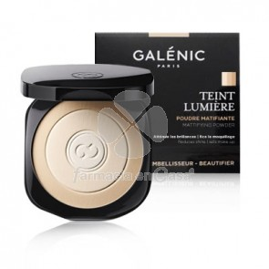 Galenic Teint lumiere maquillaje polvo matificante 9gr