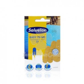 Salvelox Easy To Go apositos resistentes al agua 24 uds