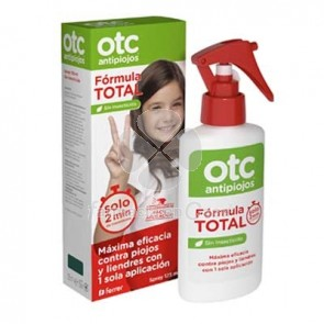 OTC Antipiojos Formula Total Spray Pediculicida 125ml
