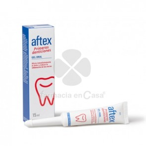 Aftex primeras denticiones gel oral 15ml