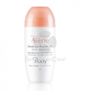 Avene Body Desodorante Eficacia 24h Roll-On 50ml