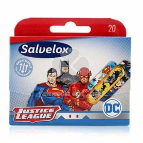 Salvelox Aposito Adhesivo Infantil Justice League 20 Uds