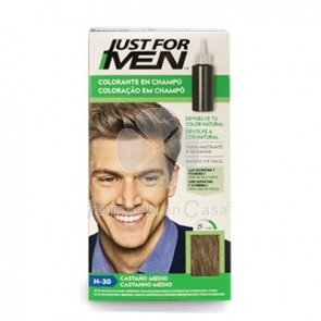 Just for Men Colorante Castaño Medio Natural Champu