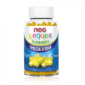 Neo Peques Gummies Omega 3 DHA Limon 30 Caramelos