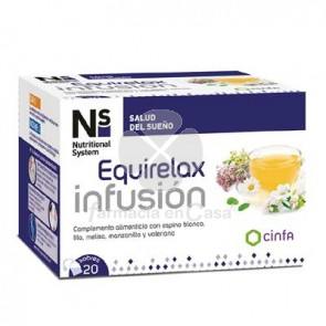 Nutritional System Equirelax Infusion 20 Sobres