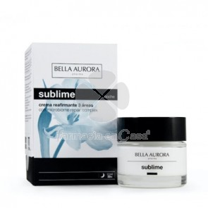 Bella Aurora Sublime Crema Reafirmante 3 Areas Noche 50ml