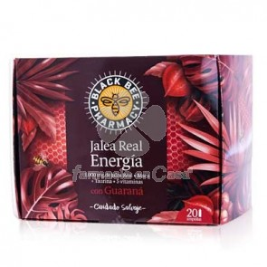Black Bee Jalea Real Energia 20 Ampollas