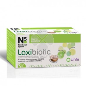 Nutritional System Florabiotic Lax 12 Sobres